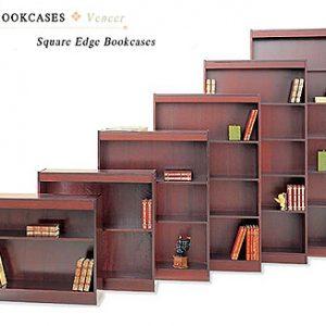 Square Edge Bookcases